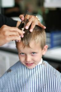 Son's Haircut